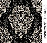 vector damask seamless pattern... | Shutterstock .eps vector #478400011