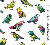 vector seamless pattern with... | Shutterstock .eps vector #478405171