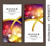 card and banner design with... | Shutterstock .eps vector #478408375