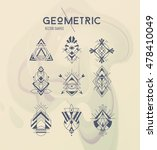 trendy symbols set. linear... | Shutterstock .eps vector #478410049