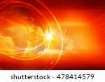 graphical sport news background ... | Shutterstock . vector #478414579