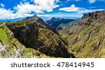 panoramic view of the mountains ... | Shutterstock . vector #478414945