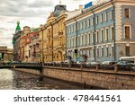 griboyedov canal in saint...   Shutterstock . vector #478441561