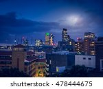 nighttime over the city of... | Shutterstock . vector #478444675