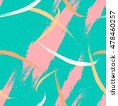 brush strokes fantasy print .... | Shutterstock .eps vector #478460257