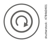 arrow  icon. flat design. | Shutterstock .eps vector #478460401