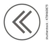 arrow  icon. flat design. | Shutterstock .eps vector #478460875