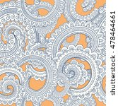 Vector Seamless Paisley Patter...