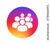 user group network icon. group... | Shutterstock .eps vector #478466491