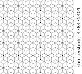 grid seamless pattern | Shutterstock .eps vector #478475401