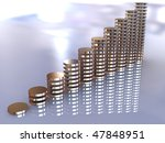 3d business statistics | Shutterstock . vector #47848951