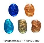 isolated on white vibrant... | Shutterstock . vector #478492489