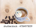 use a thermometer measures the... | Shutterstock . vector #478497859
