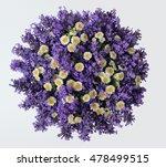 top view of a bouquet of... | Shutterstock . vector #478499515