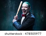 bloody halloween theme  crazy... | Shutterstock . vector #478505977