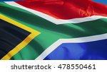 south africa flag waving... | Shutterstock . vector #478550461