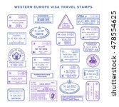 vector western europe common... | Shutterstock .eps vector #478554625