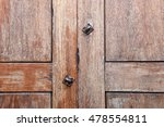 old vintage wood panel with... | Shutterstock . vector #478554811