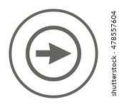 arrow   icon vector. flat... | Shutterstock .eps vector #478557604