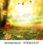 beautiful  landscape with... | Shutterstock . vector #478561519
