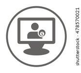 business icon. vector. | Shutterstock .eps vector #478570021