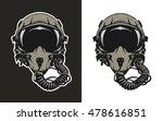 fighter pilot helmet  for dark...   Shutterstock .eps vector #478616851