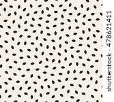 vector seamless black and white ... | Shutterstock .eps vector #478621411