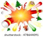 explosion of burst cracker ...   Shutterstock .eps vector #478644091
