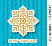 merry christmas and new year... | Shutterstock .eps vector #478696567