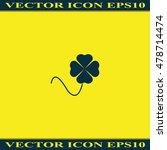 leaf clover icon. saint patrick ...