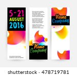 abstract template with... | Shutterstock .eps vector #478719781