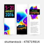 abstract template with... | Shutterstock .eps vector #478719814
