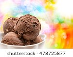 close up of ice cream delicious ... | Shutterstock . vector #478725877