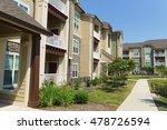 apartment complex building in... | Shutterstock . vector #478726594