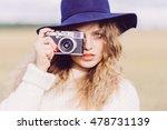 portrait of a beautiful girl in ...   Shutterstock . vector #478731139