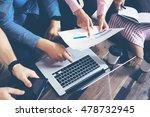 startup diversity teamwork... | Shutterstock . vector #478732945