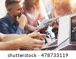 startup diversity teamwork... | Shutterstock . vector #478733119