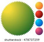empty starburst  sunburst... | Shutterstock .eps vector #478737259
