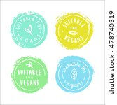 set of badges. suitable for... | Shutterstock .eps vector #478740319