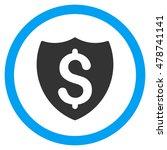 financial shield vector bicolor ... | Shutterstock .eps vector #478741141