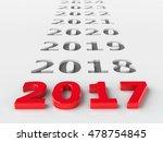 2017 future represents the new...   Shutterstock . vector #478754845