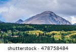 early autumn in rocky mountain... | Shutterstock . vector #478758484