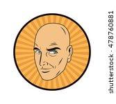man cartoon pop art and retro... | Shutterstock .eps vector #478760881
