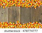 Halloween Candy Corn Double...