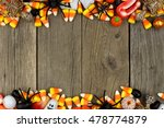 Halloween Candy And Decor...