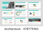 colored presentation templates  ... | Shutterstock .eps vector #478779301