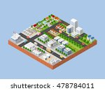 3d isometric three dimensional... | Shutterstock .eps vector #478784011