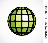3d vector low poly green... | Shutterstock .eps vector #478788781