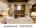 beautiful living room interior...   Shutterstock . vector #478796515