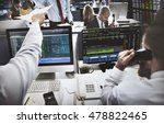stock exchange trading forex... | Shutterstock . vector #478822465